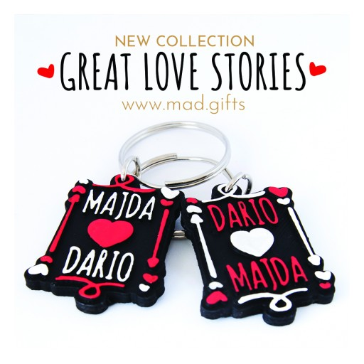 MAD by Majda & Dario Introduces an Imaginative Twist on Couple Gifting With the Great Love Stories Collection