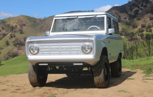 Introducing the World's First Electric Classic Ford Bronco