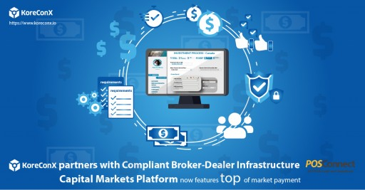 KoreConX Partners With Broker-Dealer Payment Infrastructure POSConnect