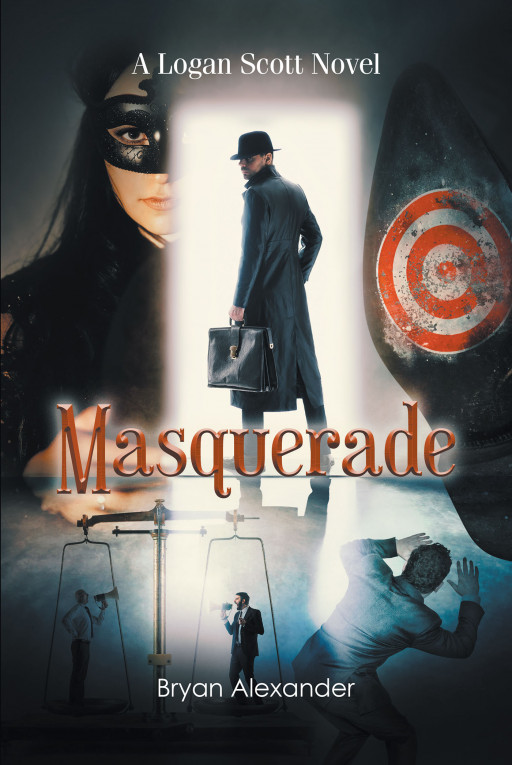 Bryan Alexander's New Book 'Masquerade' is a Mysterious Tale Following an Inventor Seeking Retribution Against an Underworld Corporate Take-Over Artist Disguised as an Angel