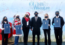 Winter Wonderland in Kansas City, proclamation presentation