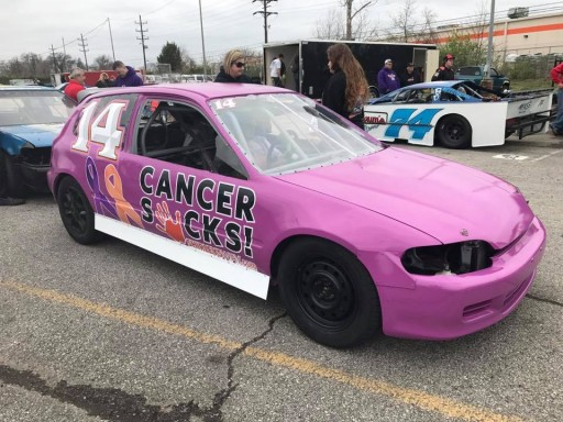 #14 Cancer Sucks Car Wins for Second Straight Week