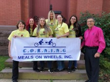 Applebee's Erwin Supporting Meals on Wheels, Inc.