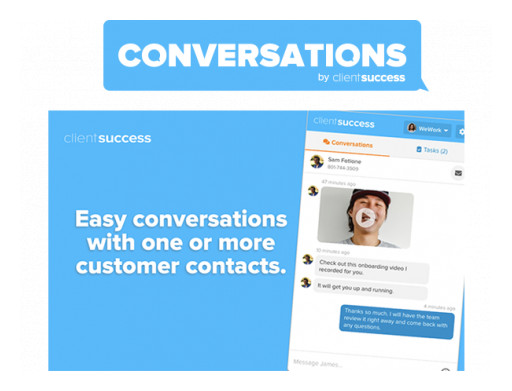 ClientSuccess Releases Industry's First Conversational Customer Success Solution