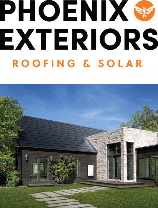 Phoenix Exteriors Becomes Second Illinois Certified Installer of the Tesla Solar Roof