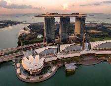 Singapore Marina Bay Sand View