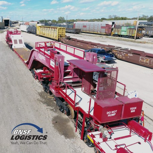 BNSF Logistics Announces New 20-Axle Shiftable FD - TEXX 900