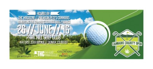 "Colorado Marijuana Companies Come Together to Support the Denver Colorado AIDS Project in the ""Cannabis Charity Open"" Charity Golf Tournament"