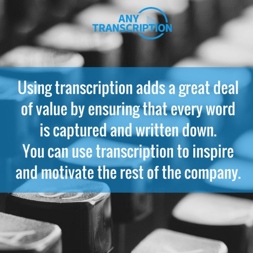 AnyTranscription Now Provides Transcription Services in More Than 20 Languages