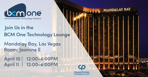 EnergyWare: A Proud Sponsor of the BCM One Lounge at the Channel Partners Conference in Las Vegas