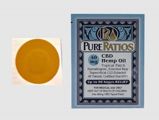 Pure Ratios Releases Innovative Topical Patch That Lasts Up to 96 Hours for Localized Relief
