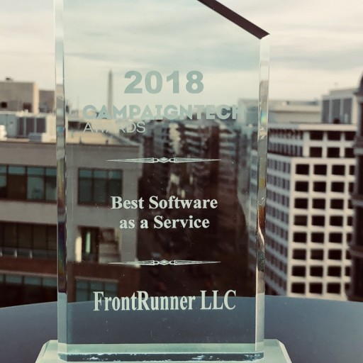 Roswell, Georgia Based FrontRunner Wins 2018 Best Software as a Service in Politics