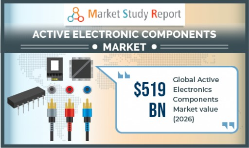 Active Electronic Components Market Size to Exceed US $519 Bn by 2026