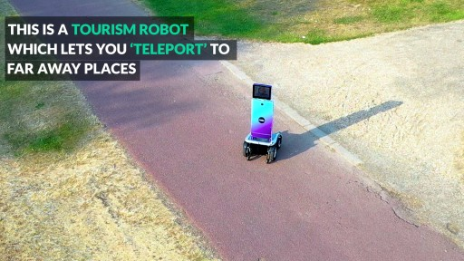 Challau Lets People Around the World 'Teleport' to Virtually Visit Places by Beaming Into Remotely Controlled Robots