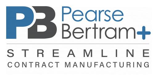Pearse Bertram Rebrands as 'Pearse Bertram+ Streamline Contract Manufacturing'