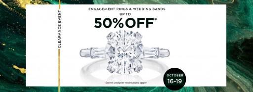 Take Up to 50% Off on Designer Bridal Jewelry at BENARI JEWELERS This Week