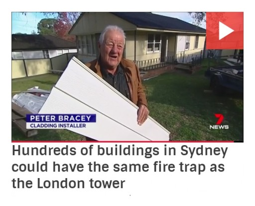 Peter & Lesley Bracey Home Improvements: London Fire Ignites the Concern of the Use of Noncompliant External Cladding on Australian Buildings