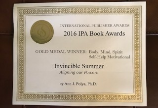 International Publisher Award to Invincible Summer