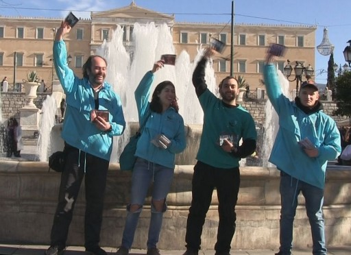 Greek Scientologists Bring Truth About Drugs to Athens