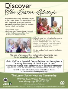 February 15 dementia care presentation