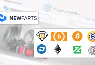 NewParts Supported Cryptocurrencies