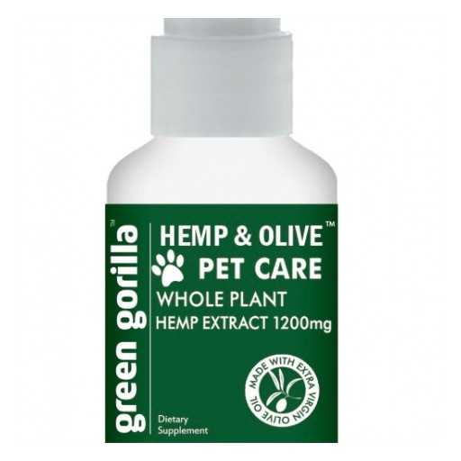 Green Gorilla Launches Whole Plant-Full Spectrum Product to Line of Pet Care CBD Supplements