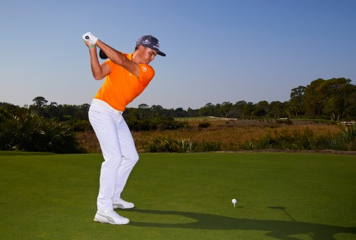 Rickie Fowler Challenges His Social Media Followers to a Success Shot