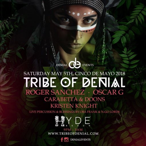 Powerhouses Unite as House Music Icon Roger Sanchez Joins Forces With Miami's Elite Nightlife Brand 'Denial Events'