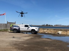 Bryant Associates, Inc. drone in flight