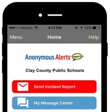 Anonymous Alerts Safety Reporting App
