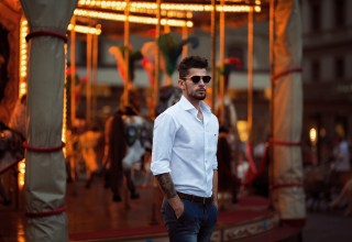 New online store - Gatsby's - offers custom monogrammed men's shirts.
