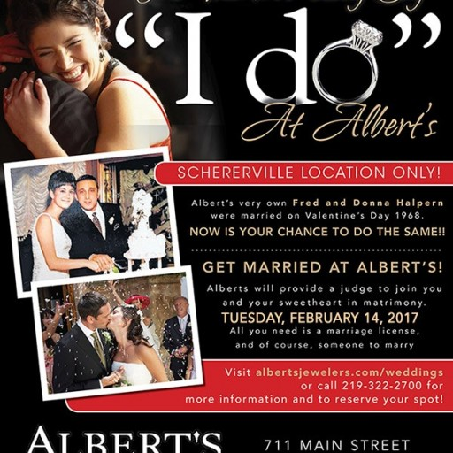 Indiana-Based Albert's Diamond Jewelers Announces a Number of Valentine's Day Launches, Events, and Exclusive Sales