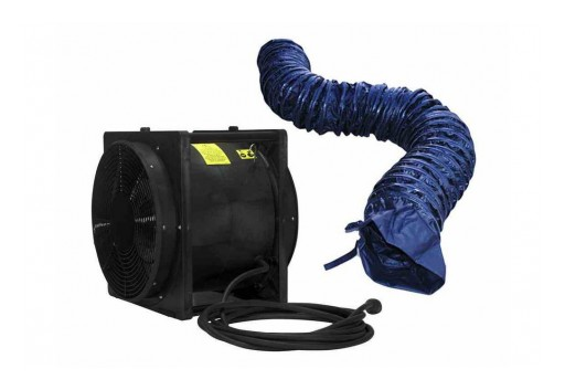"Larson Electronics Releases Explosion Proof 16"" Box Fan/Blower/Ventilator, 4,450 CFM, 220V AC"