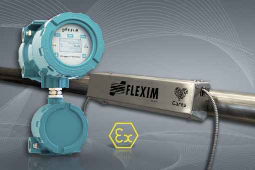 FLEXIM Announces New Non-Intrusive and Intrinsically Safe Explosion-Proof Flowmeter