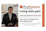 tips and strategies for managing pain