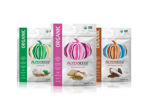 SuperSeedz® Receives ChefsBest® Quality in Craft Award for New Line of Organic Gourmet Pumpkin Seed Snacks