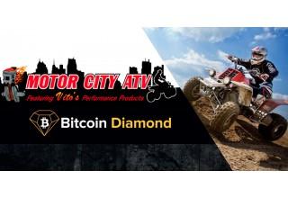 Motor City ATV with Bitcoin Diamond