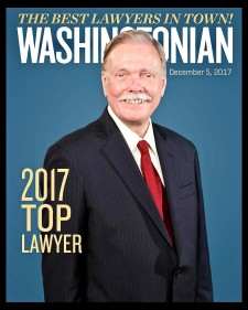 Rick Seymour Named 2017 Top Lawyer by Washingtonian Magazine
