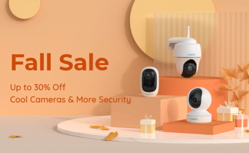 Secure Home & Business This Fall With Reolink's Best Security Cameras on Sale (Up to 30% Off)