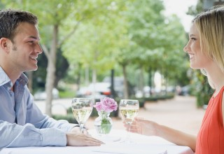 Couple Dinning