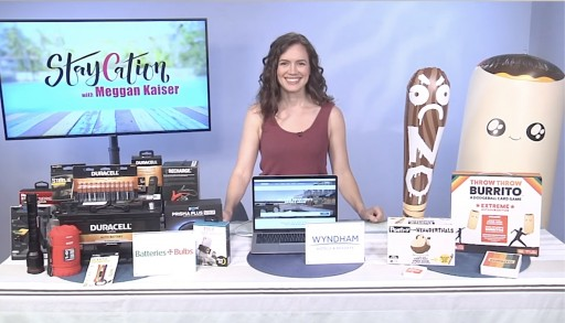 Travel Expert Meggan Kaiser Shares Staycation Inspiration on Tips on TV Blog