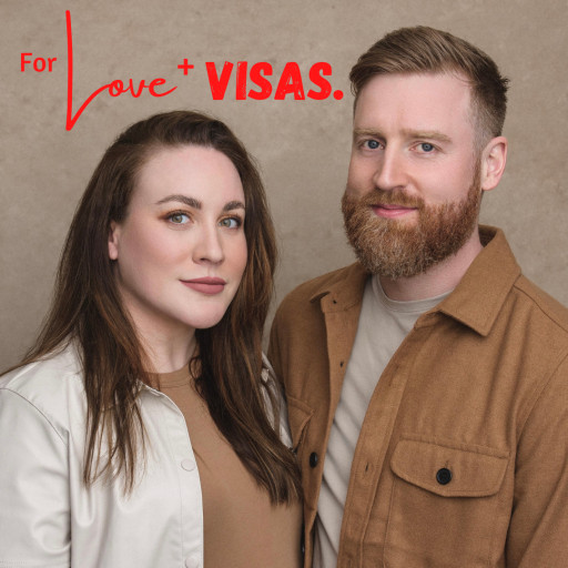 Laura Barrett Larkins and Stuart Larkins Announce 'For Love + Visas' Podcast