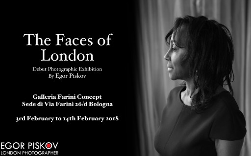 The Faces of London - Debut Photographic Exhibition by Egor Piskov