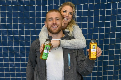 America's Athletic Power Couple, Zach and Julie Ertz, Invest in Healthy Tea Company, Tiesta Tea