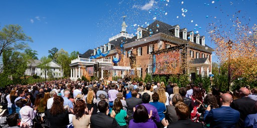 Georgia's Scientology Church Opens on Bright Shiny Day for Spirit of Freedom