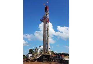 Braz Leon #1 drilling