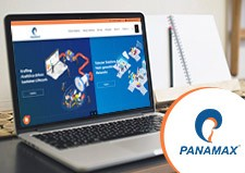 Panamax New Logo & Website