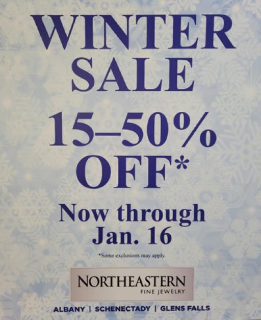 Northeastern Fine Jewelry Announces Spectacular Winter Sale