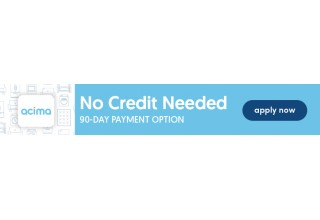 Acima Financing Takes Care of Customers, with 90 Day Payment Option