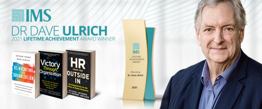 Dr. Dave Ulrich Receives Lifetime Achievement Award From The Institute for Management Studies